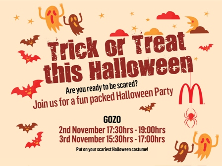 McDonald's Halloween party | Arkadia