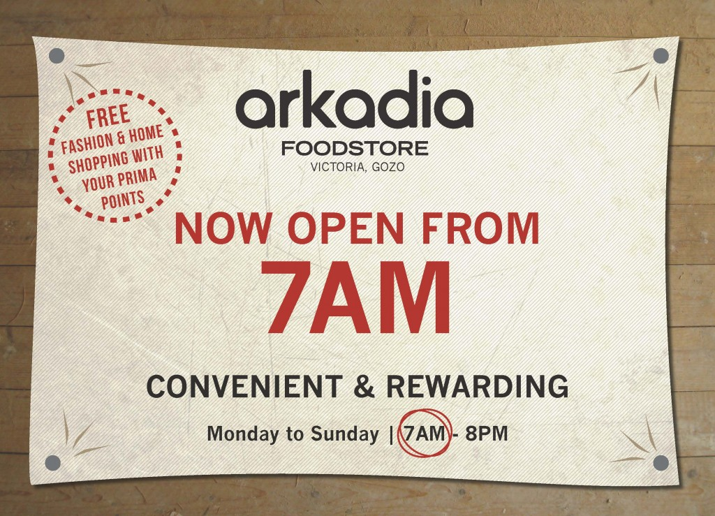 Now open from 7AM