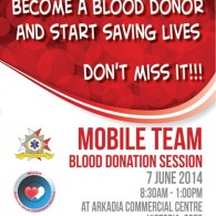 BLOOD DRIVE - JUNE 2014
