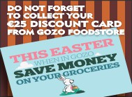 Easter €25 discount card