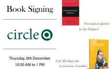 Book Signings   Circle-A   8th December