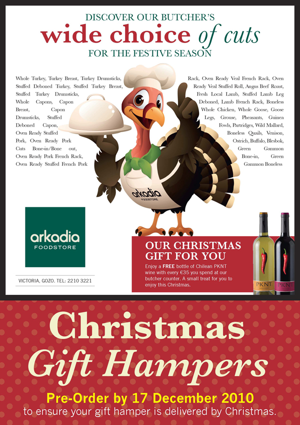 Get a FREE bottle of wine for our Gozo Butcher