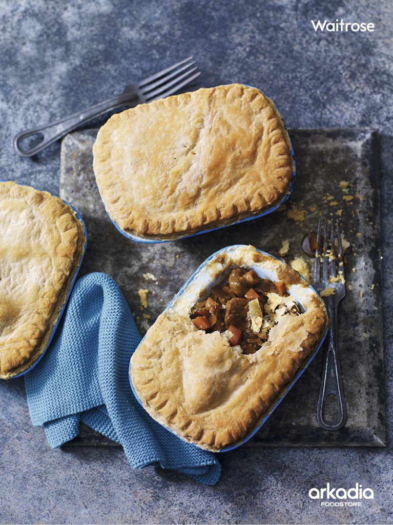 Steak & Carrot Pot Pies